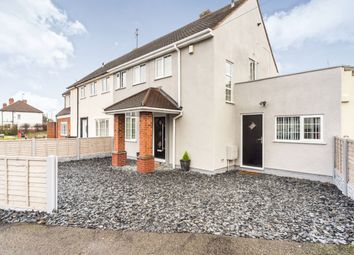 Thumbnail 3 bed semi-detached house for sale in Vicarage Road, Upper Gornal, Dudley, West Midlands