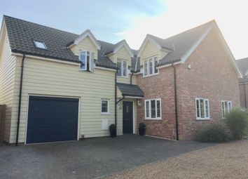 Thumbnail 4 bed detached house for sale in Bixley Drive, Ipswich