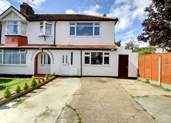 Thumbnail 3 bed end terrace house for sale in Lynmouth Road, Perivale