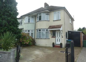 Thumbnail 3 bed semi-detached house for sale in Harvey Road, Whitton, Hounslow