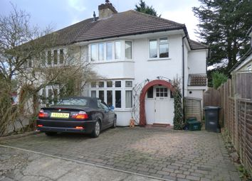 Thumbnail 3 bed semi-detached house to rent in Edward Close, St Albans
