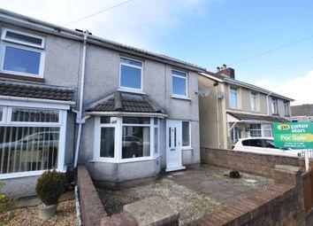 Thumbnail 3 bed semi-detached house for sale in Cefn Fforest Avenue, Cefn Fforest, Blackwood