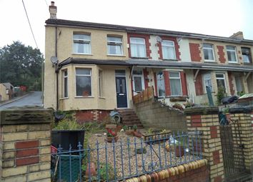 Thumbnail 3 bed end terrace house for sale in Llwynon Road, Six Bells, Abertillery