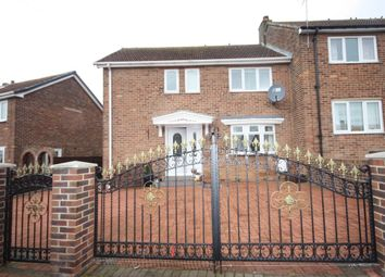 Thumbnail 3 bed semi-detached house for sale in Abingdon Road, Easington, Saltburn-By-The-Sea