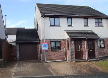 Thumbnail 2 bed semi-detached house for sale in Carloggas Grove, St. Columb