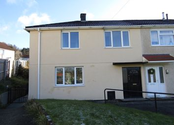 Thumbnail 3 bed semi-detached house to rent in Brodeg, Aberdare
