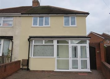 Thumbnail 3 bed property to rent in Keys Crescent, West Bromwich