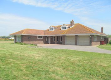 Thumbnail 4 bed detached bungalow to rent in Cakeham Road, West Wittering, Chichester