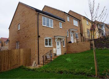 Thumbnail 3 bed semi-detached house for sale in Crocker Way, Wincanton