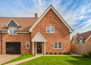 Fairway Close, Bourn, Cambridge CB23. 3 bed semi-detached house for sale