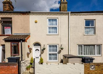 Thumbnail 3 bed terraced house for sale in Wolseley Road, Great Yarmouth, Norfolk