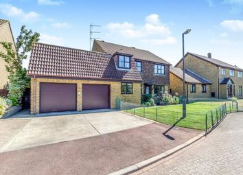 Thumbnail 5 bed detached house for sale in Heron Close, Lower Halstow, Rainham, Kent