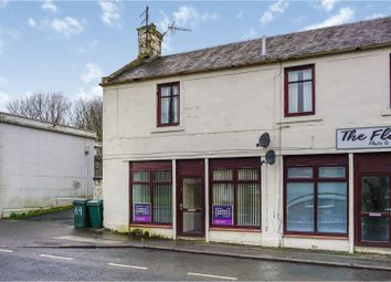 Thumbnail 2 bed flat for sale in Castle, New Cumnock