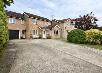 Thumbnail 4 bed detached house for sale in Oak Road, Stamford