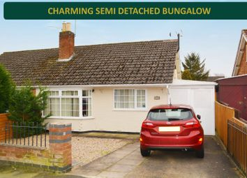 2 bed semi-detached bungalow for sale in Sussex Road, South Wigston, Leicester LE18
