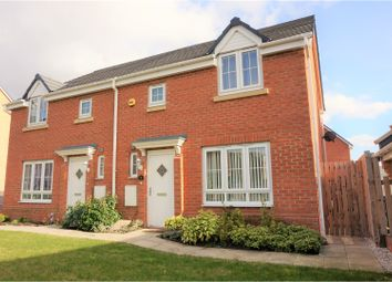 Thumbnail 3 bedroom semi-detached house for sale in Woodside Court, Leeds
