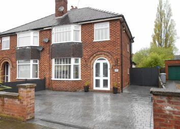 Thumbnail 3 bed semi-detached house for sale in Manor Way, Wistaston, Crewe