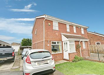 Thumbnail 2 bed semi-detached house for sale in Willow Drive, Thorngumbald, Hull