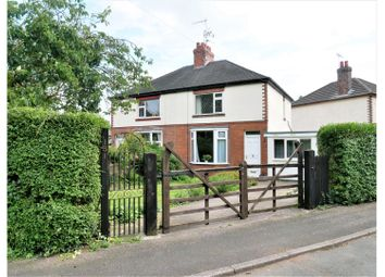 Thumbnail 3 bed semi-detached house for sale in Tean Road, Stoke-On-Trent
