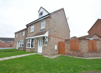Thumbnail 4 bed detached house for sale in Heron Gate, Scunthorpe