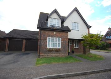 Thumbnail 4 bed detached house for sale in Dolby Rise, Chelmer Village, Chelmsford