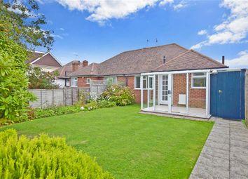 Thumbnail 2 bed semi-detached bungalow for sale in Tennyson Avenue, Rustington, West Sussex