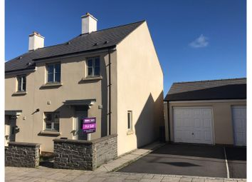 Thumbnail 3 bed semi-detached house for sale in Lon Y Grug, Llandarcy, Neath