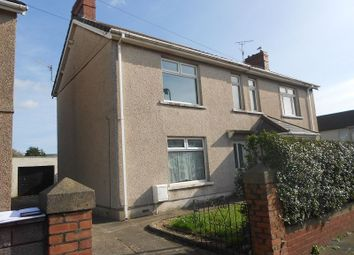 Thumbnail 3 bed semi-detached house to rent in Sandown Road, Port Talbot, Neath Port Talbot.