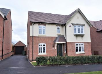 Thumbnail 4 bed detached house for sale in Spring Avenue, Ashby-De-La-Zouch