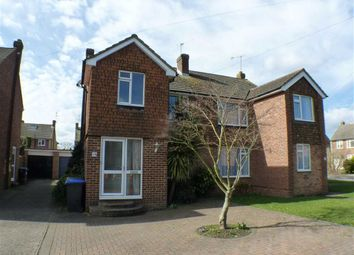 Thumbnail 4 bed semi-detached house for sale in Fullerton Road, Byfleet, Surrey