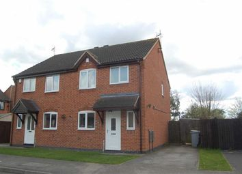Thumbnail 3 bed semi-detached house to rent in Sixth Avenue, Edwinstowe, Mansfield