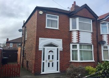 Thumbnail 3 bed semi-detached house to rent in Winster Avenue, Stretford, Manchester