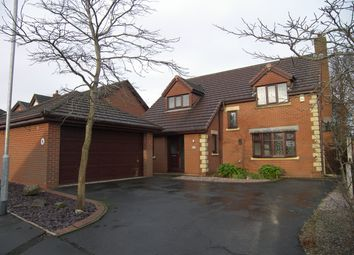Thumbnail 4 bed detached house for sale in Greenacres, Freckleton, Preston