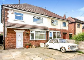 Thumbnail 3 bedroom semi-detached house for sale in Bideford Road, Offerton, Stockport, Cheshire