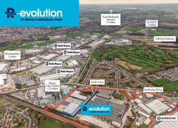 Thumbnail Industrial to let in R-Evolution, Sinfin Commercial Park, Sinfin Lane, Derby, Derbyshire