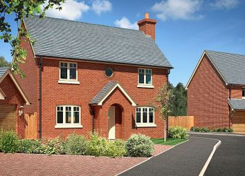 Thumbnail 4 bed detached house for sale in Perry View, Prescott, Baschurch, Shropshire