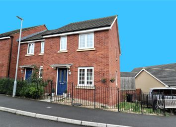 Thumbnail 3 bed semi-detached house for sale in Clapham Close, Moredon, Swindon, Wiltshire