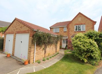 Thumbnail 4 bed detached house for sale in Irwell Close, Oakham