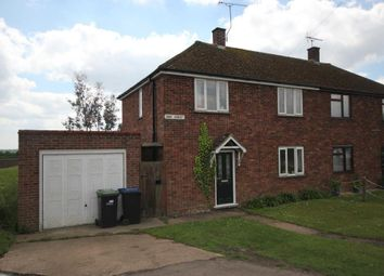 Thumbnail 3 bed semi-detached house for sale in High Street, Aldreth, Ely