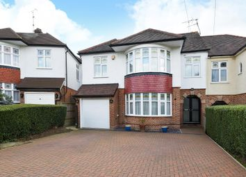 Thumbnail 5 bed semi-detached house for sale in Mount View, Mill Hill
