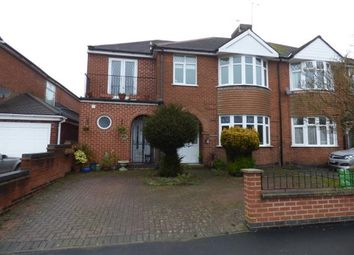 Thumbnail 6 bed semi-detached house for sale in Uplands Road, Oadby, Leicester, Leicestershire