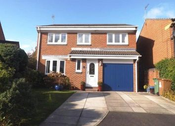 Thumbnail 4 bedroom detached house for sale in Redshank Close, Washington, Tyne And Wear