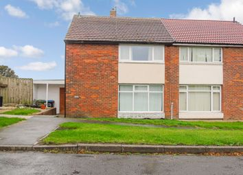 Thumbnail 3 bed semi-detached house for sale in Troutbeck Way, Peterlee