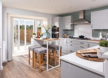"Thumbnail 5 bed detached house for sale in ""Moorecroft"" at Huntingdon Road, Thrapston, Kettering"