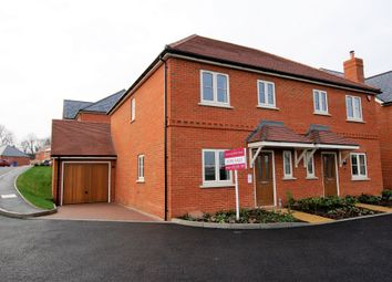 Thumbnail 3 bed semi-detached house for sale in Silver Court, Hartley Wintney, Hook