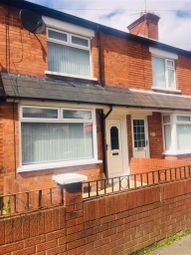 Thumbnail 2 bed terraced house to rent in Willowfield Drive, Belfast