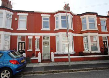 Thumbnail 3 bed terraced house to rent in Queensdale Road, Allerton, Liverpool