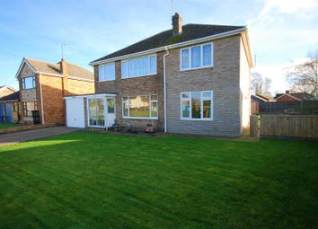 Thumbnail 4 bed detached house for sale in Middle Road, Whaplode, Spalding