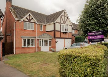 Thumbnail 5 bedroom detached house for sale in Duncombe Road, Leicester