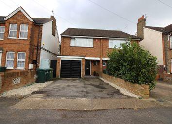 Thumbnail 3 bed semi-detached house for sale in Gordon Road, Ashford